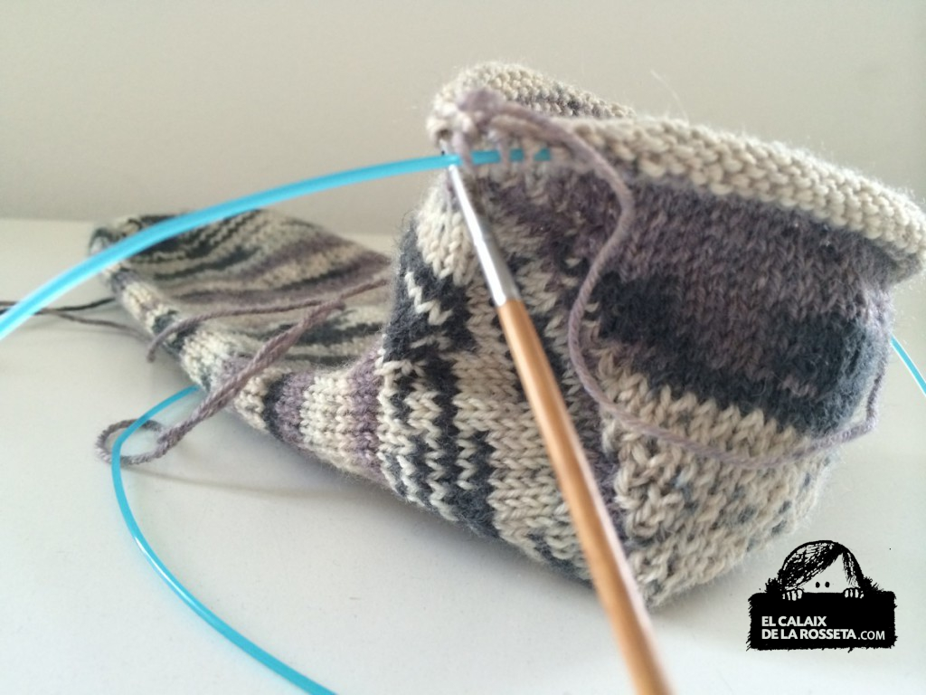 calcetines grises 7