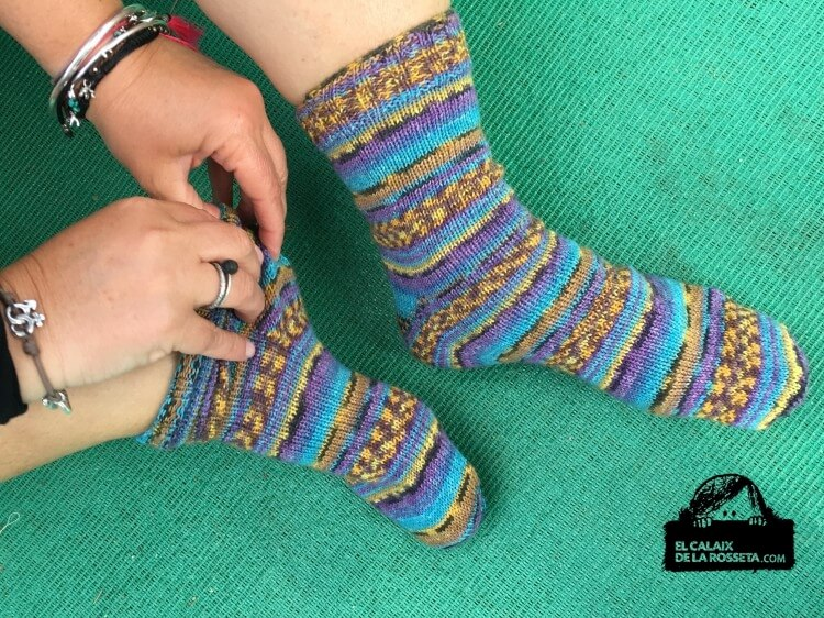 """calcetines de """"El Principito"""""""