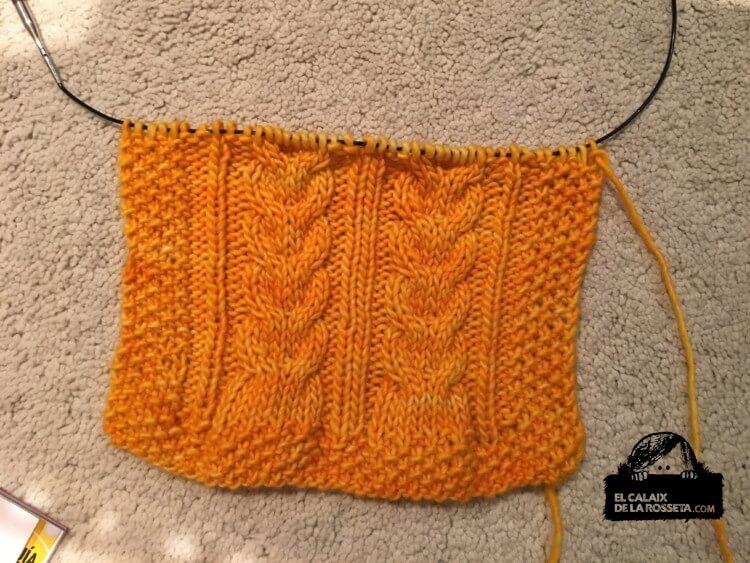 Bufanda corta en amarillo #Libertad