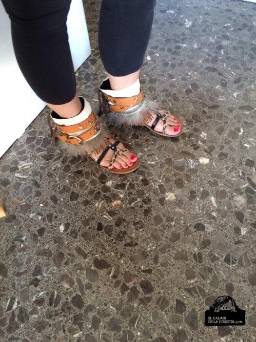 Cubrebotas o adornos para las botas