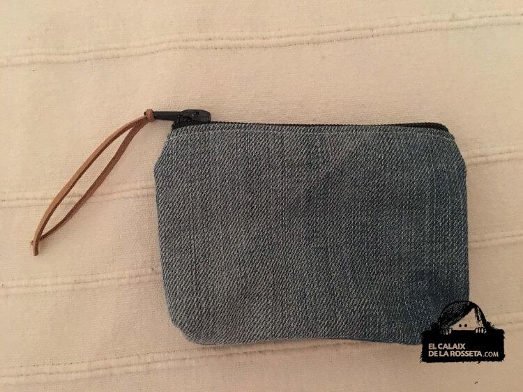 Bolso de tejano reciclado para Silvia