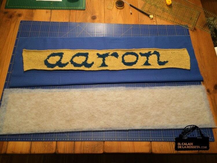 Regalo para Aaron, el nieto de mi compañera de EGB, Tere