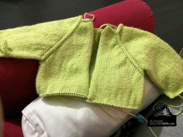 Chaqueta de bebé para Jana