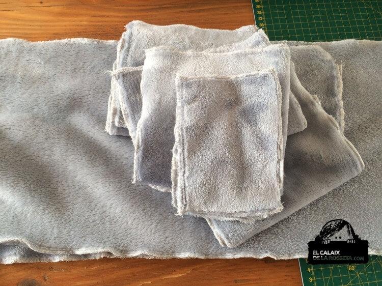 Regalos para mis amigos del camping, tela de forro polar en gris